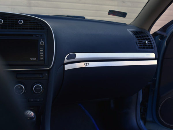 SAAB 9-3 II GLOVE BOX COVER - Quality interior & exterior steel car accessories and auto parts