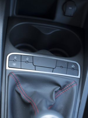 SEAT IBIZA IV CENTER CONSOLE BUTTONS COVER - Quality interior & exterior steel car accessories and auto parts