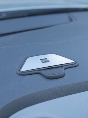 SEAT IBIZA IV EMBLEM COVER - Quality interior & exterior steel car accessories and auto parts