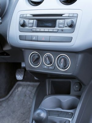 SEAT IBIZA IV CLIMATE CONTROL ADJUSTS COVER - Quality interior & exterior steel car accessories and auto parts