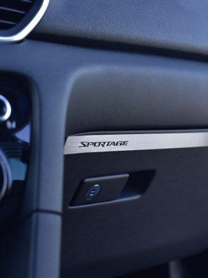 KIA SPORTAGE GLOVE BOX COVER - Quality interior & exterior steel car accessories and auto parts