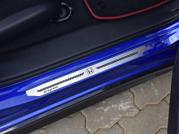 HONDA CIVIC IX DOOR SILLS - Quality interior & exterior steel car accessories and auto parts