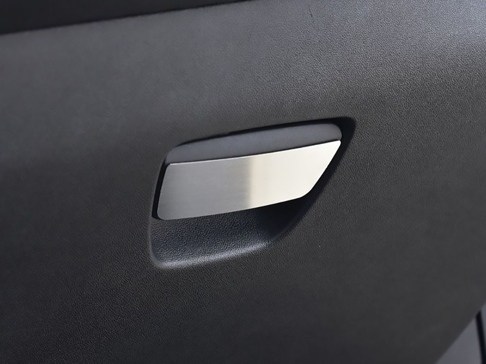 PEUGEOT 208 GLOVE BOX HANDLE COVER - Quality interior & exterior steel car accessories and auto parts