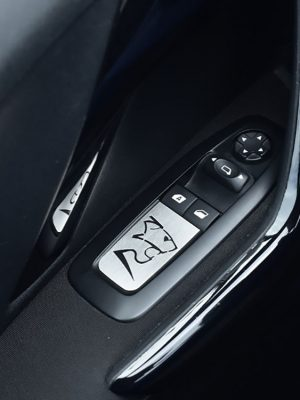 PEUGEOT 208 2008 DOOR CONTROL PLATE COVER - Quality interior & exterior steel car accessories and auto parts