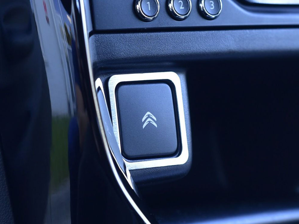 CITROEN DS3 EMERGENCY BUTTONS COVER - Quality interior & exterior steel car accessories and auto parts