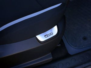 FIAT 500 L FRONT SEATS PANEL COVER - Quality interior & exterior steel car accessories and auto parts