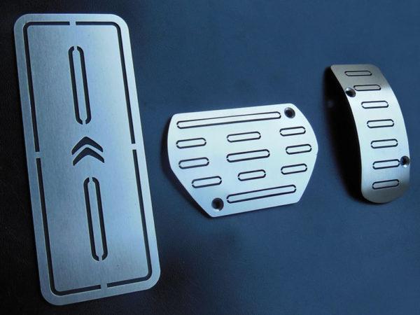 CITROEN C4 CACTUS PEDALS AND FOOTREST - Quality interior & exterior steel car accessories and auto parts