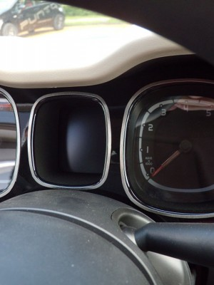 FIAT PANDA III GAUGES COVER - Quality interior & exterior steel car accessories and auto parts