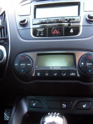 HYUNDAI IX35 CLIMATE CONTROL PANEL COVER - Quality interior & exterior steel car accessories and auto parts