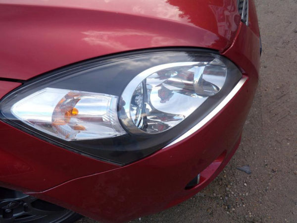 KIA CEED FRONT LAMPS DECOR COVER - Quality interior & exterior steel car accessories and auto parts