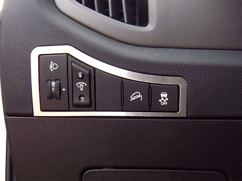 KIA SPORTAGE DIM LIGHT CONTROL COVER - Quality interior & exterior steel car accessories and auto parts