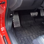 HONDA CIVIC X TYPE R FK8 FOOTREST - Quality interior & exterior steel car accessories and auto parts