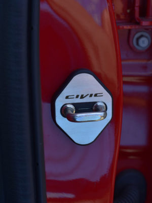 HONDA CIVIC X & TYPE R FK8 DOOR LOCK PROTECTIVE COVERS - Quality interior & exterior steel car accessories and auto parts