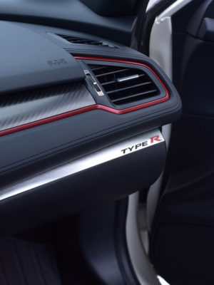 HONDA CIVIC X & TYPE R V FK8 GLOVE BOX STRIP COVER - Quality interior & exterior steel car accessories and auto parts crafted with an attention to detail.
