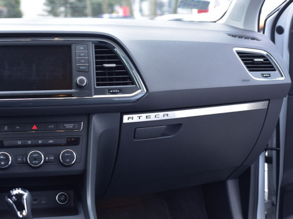 SEAT ATECA GLOVE BOX COVER- Quality interior & exterior steel car accessories and auto parts crafted with an attention to detail.