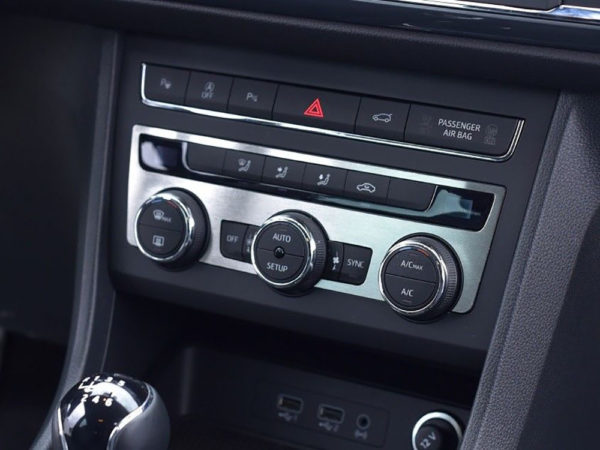 SEAT ATECA CLIMATE CONTROL PANEL COVER - Quality interior & exterior steel car accessories and auto parts crafted with an attention to detail.