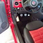 FIAT 500 PEDALS AND FOOTREST - Quality interior & exterior steel car accessories and auto parts