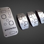 FIAT PANDA III PEDALS AND FOOTREST - Quality interior & exterior steel car accessories and auto parts