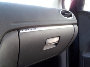 FORD FOCUS C-MAX GLOVE BOX HANDLE COVER - Quality interior & exterior steel car accessories and auto parts