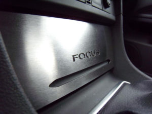 FORD FOCUS C-MAX CENTER STORAGE COVER - Quality interior & exterior steel car accessories and auto parts