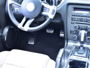FORD MUSTANG FOOTREST - - Quality interior & exterior steel car accessories and auto parts