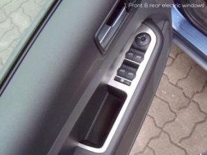 FORD FOCUS C-MAX DOOR CONTROL PANEL COVER - Quality interior & exterior steel car accessories and auto parts