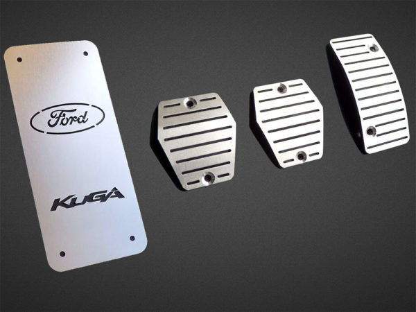 FORD KUGA PEDALS AND FOOTREST - Quality interior & exterior steel car accessories and auto parts