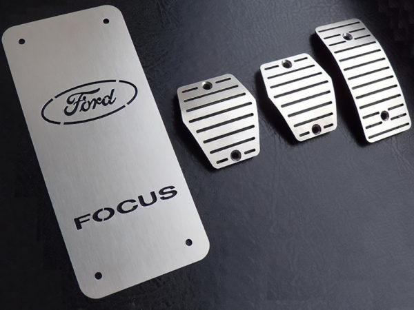 FORD FOCUS C-MAX PEDALS AND FOOTREST - Quality interior & exterior steel car accessories and auto parts