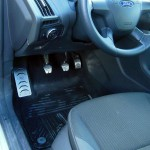 FORD FOCUS MK3 PEDALS AND FOOTREST - Quality interior & exterior steel car accessories and auto parts