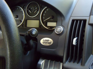 LAND ROVER EMBLEM - Quality interior & exterior steel car accessories and auto parts