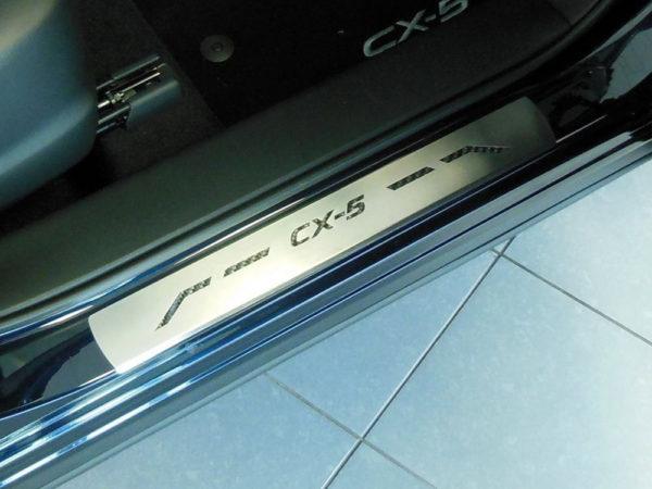 MAZDA CX-5 DOOR SILLS - Quality interior & exterior steel car accessories and auto parts
