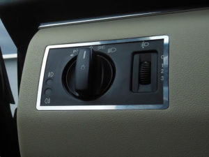 MERCEDES A B DIM LIGHT CONTROL COVER - Quality interior & exterior steel car accessories and auto parts