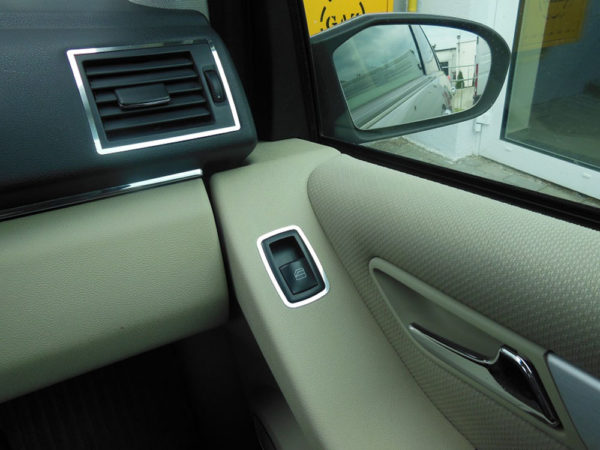 MERCEDES A B FRONT DOOR CONTROL PANEL COVER - Quality interior & exterior steel car accessories and auto parts