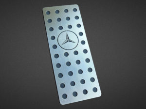 MERCEDES A FOOTREST - Quality interior & exterior steel car accessories and auto parts