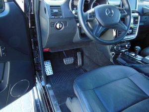 MERCEDES G FOOTREST - Quality interior & exterior steel car accessories and auto parts