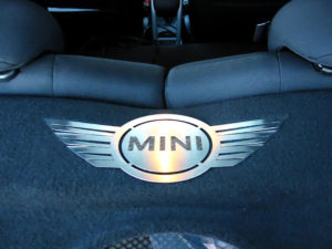 MINI EMBLEM - Quality interior & exterior steel car accessories and auto parts