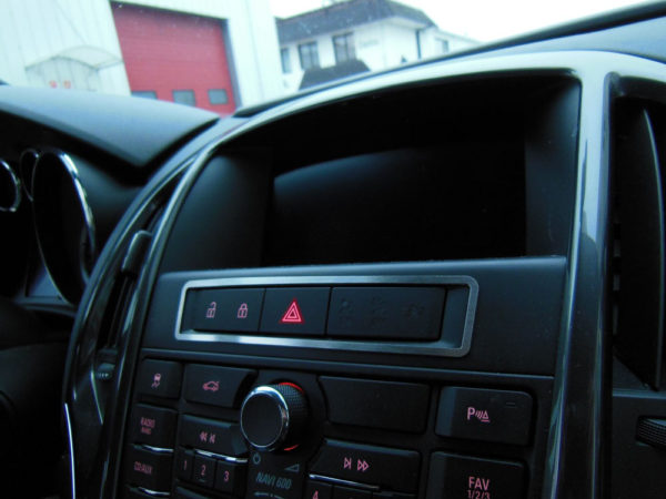 OPEL ASTRA CENTER BUTTONS COVER - Quality interior & exterior steel car accessories and auto parts