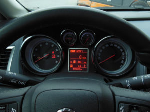 OPEL ASTRA MAIN DISPLAY COVER - Quality interior & exterior steel car accessories and auto parts