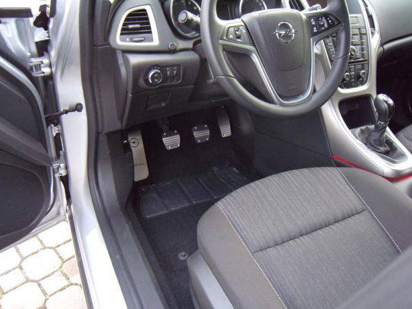 OPEL ASTRA PEDALS AND FOOTREST - Quality interior & exterior steel car accessories and auto parts