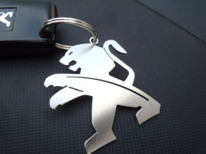 PEUGEOT KEYRING - Quality interior & exterior steel car accessories and auto parts