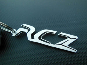 PEUGEOT RCZ KEYRING - Quality interior & exterior steel car accessories and auto parts