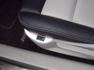 PEUGEOT 207 FRONT SEAT PANEL COVER - Quality interior & exterior steel car accessories and auto parts