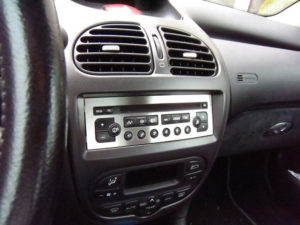 PEUGEOT 206 RADIO CONSOLE COVER - Quality interior & exterior steel car accessories and auto parts