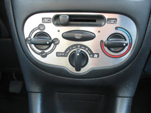 PEUGEOT 206 CLIMATE CONTROL PANEL COVER - Quality interior & exterior steel car accessories and auto parts