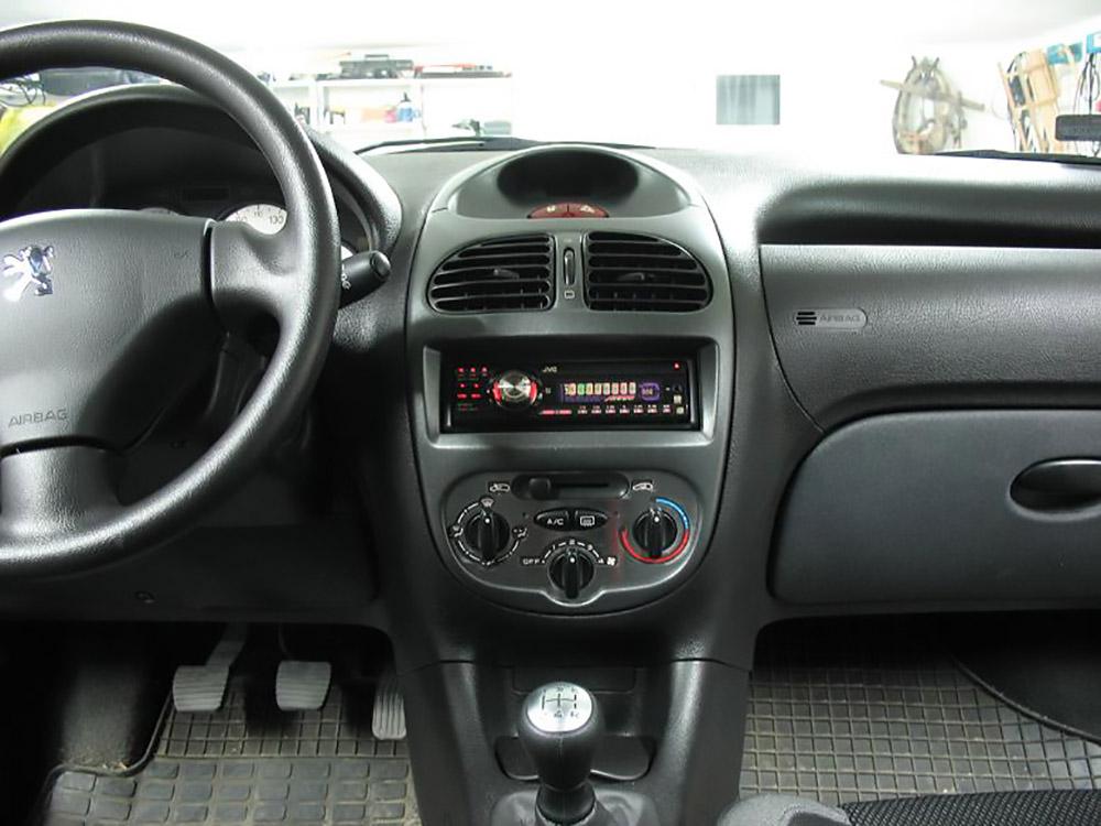 Peugeot 206 Climate Control Panel Cover Autocovr