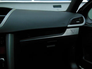 PEUGEOT 207 BELOW GLOVE BOX COVER - Quality interior & exterior steel car accessories and auto parts