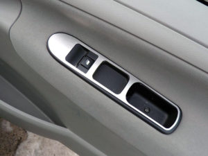 PEUGEOT 207 307 FRONT DOOR CONTROL PANEL COVER - Quality interior & exterior steel car accessories and auto parts