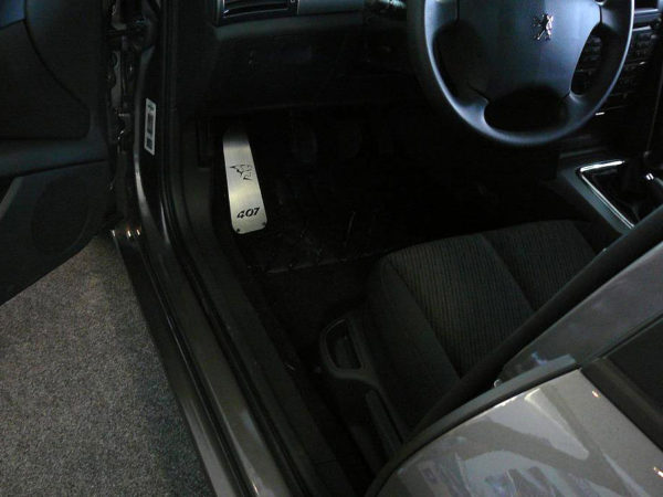 PEUGEOT 407 FOOTREST - Quality interior & exterior steel car accessories and auto parts