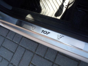 PEUGEOT 107 DOOR SILLS - Quality interior & exterior steel car accessories and auto parts