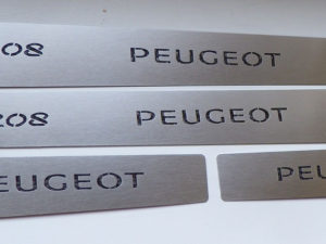 PEUGEOT 208 DOOR SILLS - Quality interior & exterior steel car accessories and auto parts